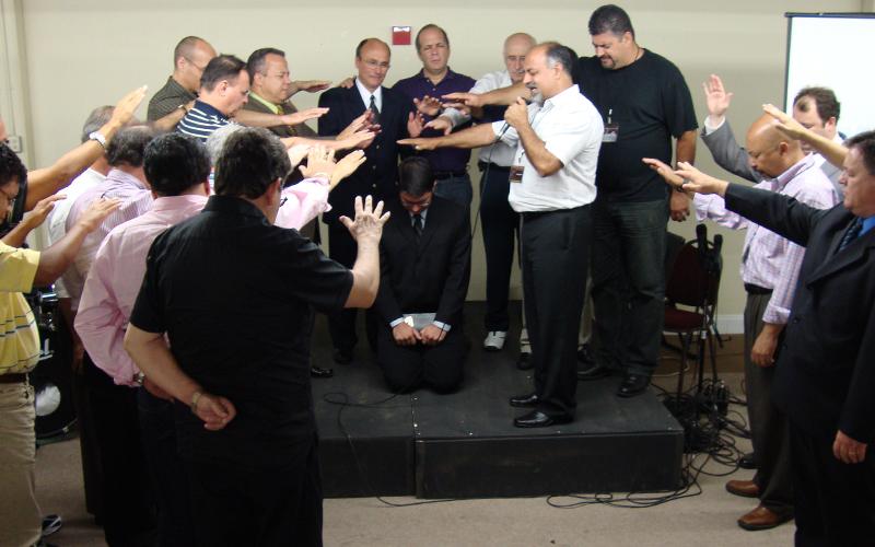 Pastor Diego Barreto